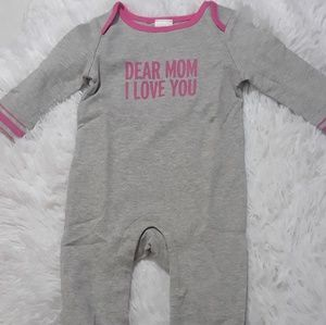 One Pieces - Dear Mom I Love You Baby One Piece- 0-3Mos